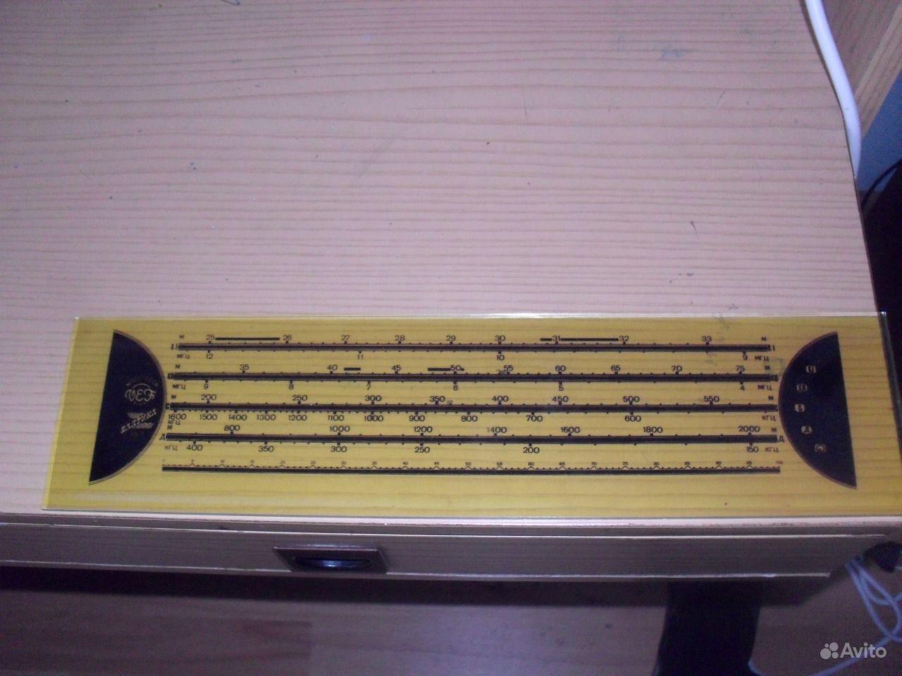Шкала радиоприемника балтика
