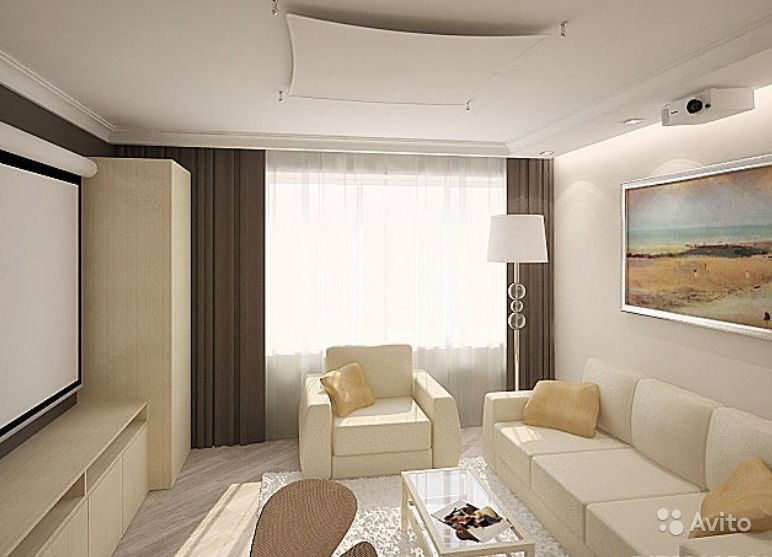 Дизайн хрущевки 1 комната фото