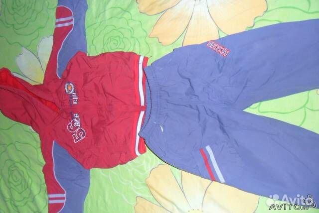 Спортивный теплый костюм - Доска бесплатных объявлений Детская одежда