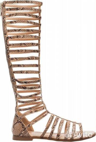 Купить высокие римские сандалии