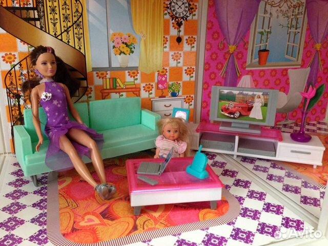 Мебель Для Кукол Гостиная В Москве