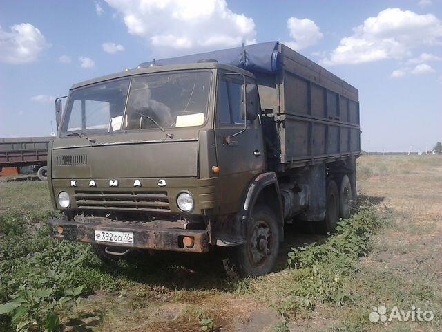 Камаз 55102 с прицепом фото