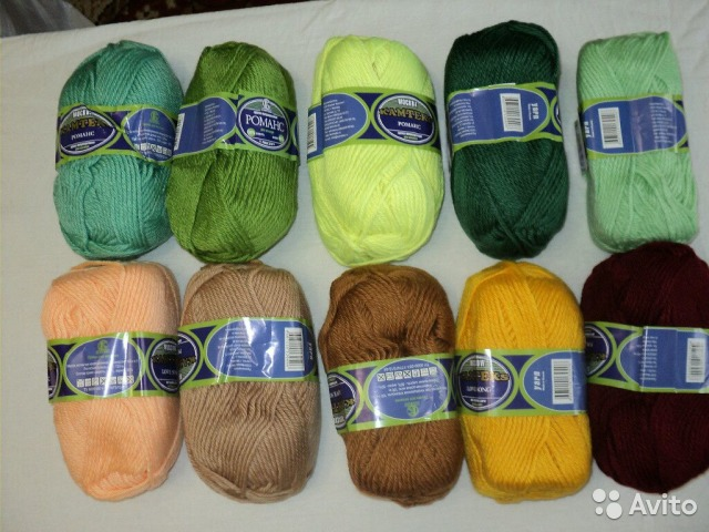 Заказать дешевые нитки для вязания