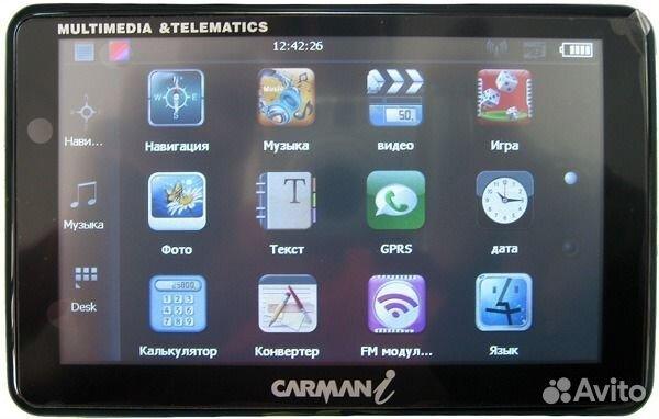 Инструкция к авто навигатору carman i cb 200