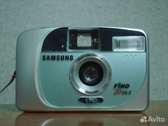 Samsung fino 20 dlx (компактная 35-мм камера)