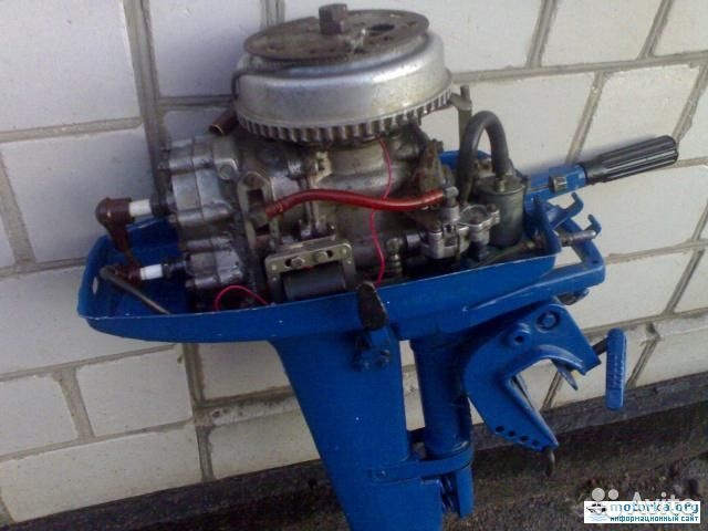 ремонт мотора ветерка 8