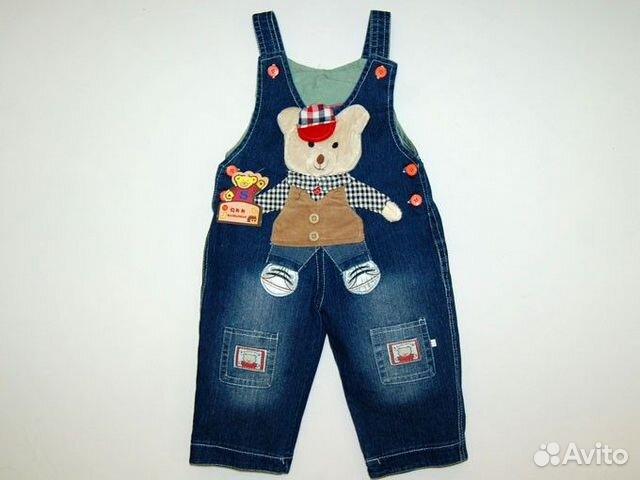 Детские джинсовые комбинезоны как сшить