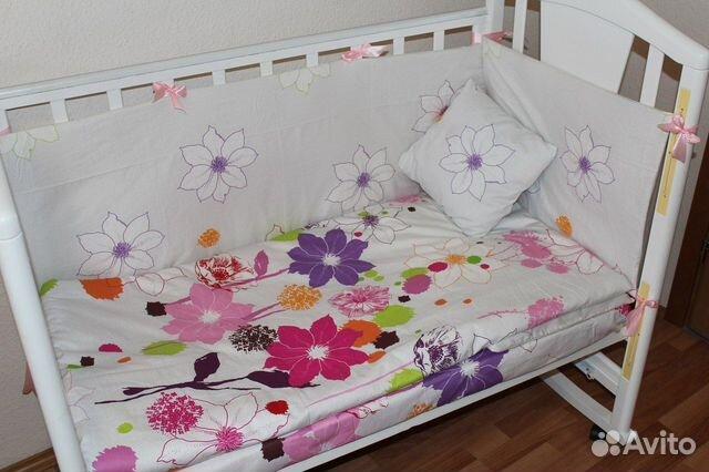 Постельное белье для новорожденных сшить
