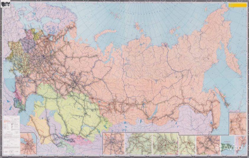 """Настенная """"карта железных"""
