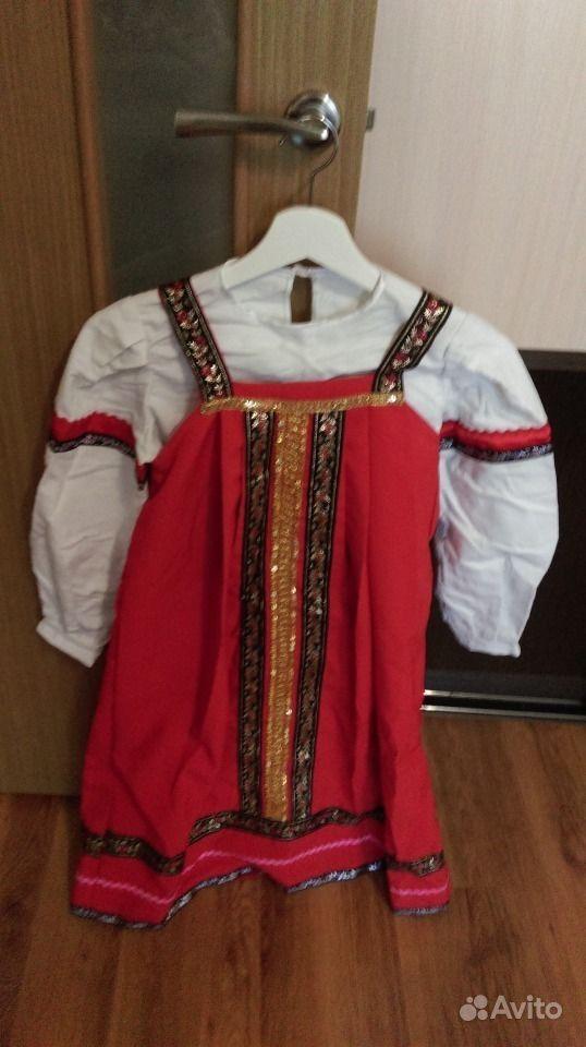 Женское русское народное платье фото