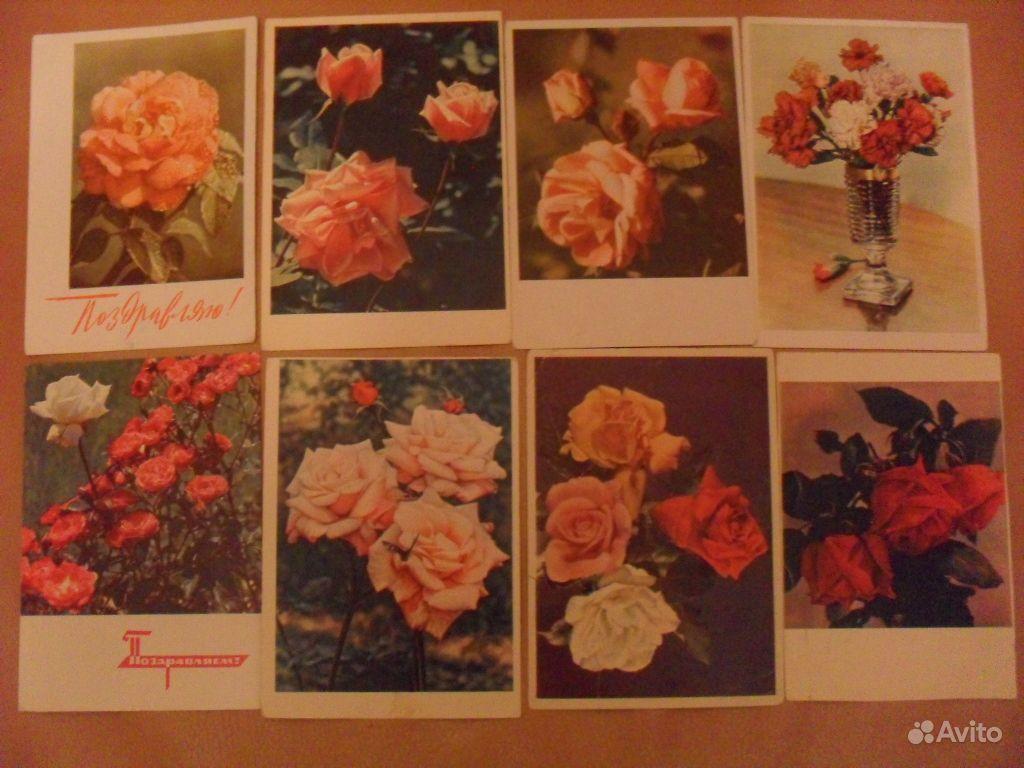 Новогодние открытки 50-60-х годов