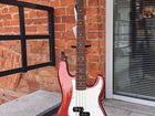 Fender Standard Precision Bass Candy Apple Red