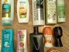 Шампуни, бальзамы, крем, дезодоранты, гели, мыло