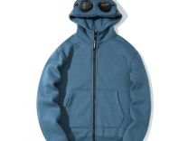 Толстовка худи утеплённая C.P. Company новая.Синяя — Одежда, обувь, аксессуары в Санкт-Петербурге