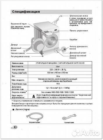 Руководство По Эксплуатации Стиральной Машины Самсунг - фото 8