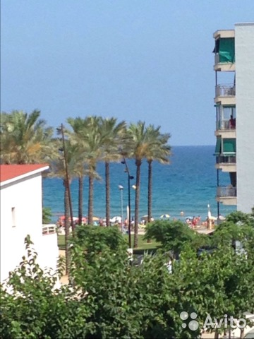 Квартира на месяц на побережье испании