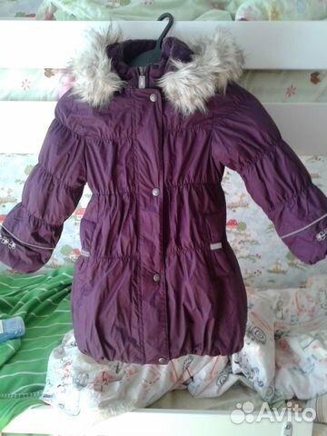 Lenne(Kerry) Комплект пальто+ полукомбинезон р.110