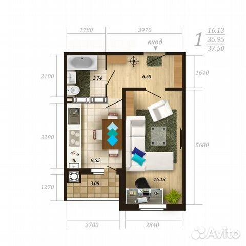 1 2 квартиры:
