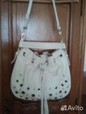 6d75c3e70690 Итальянские сумки (Vicini-белая, Tosca Blu-чёрная)— фотография №1
