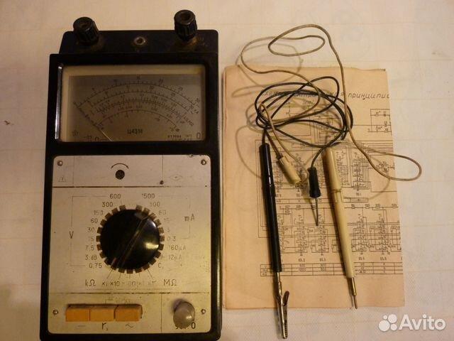 Ссср 1954г електротестор Прибор has