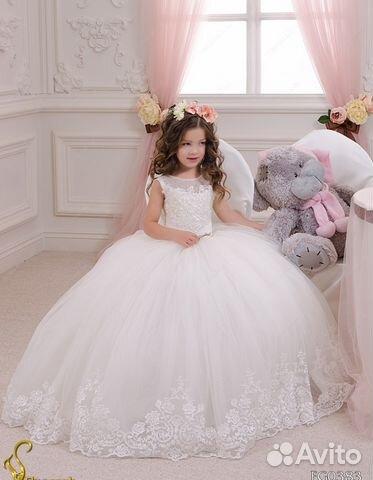 528cbf4d323 Новые детские платья в пол. бальные детские платья
