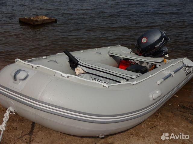 лодка пвх мотор ямаха 4