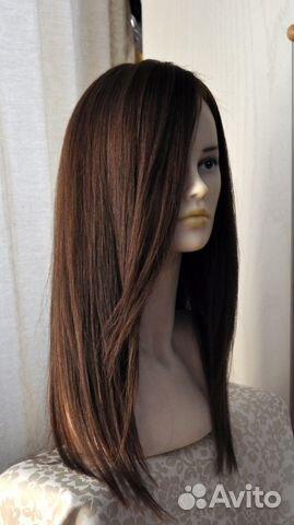 Парики из натуральных волос купить в москве