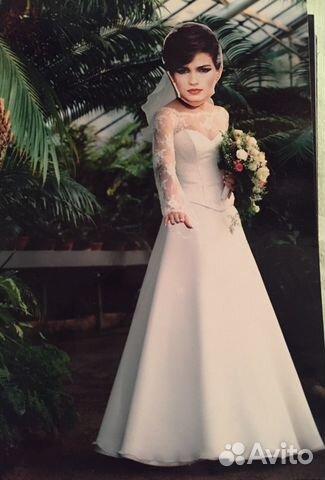 a3aa54fbb1ecb2e Свадебное платье для очень худенькой невесты, б/у купить в Санкт ...
