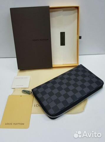 812b955fc5b9 Кошелек Мужской Louis Vuitton Graphite Луи Виттон купить в Москве на ...