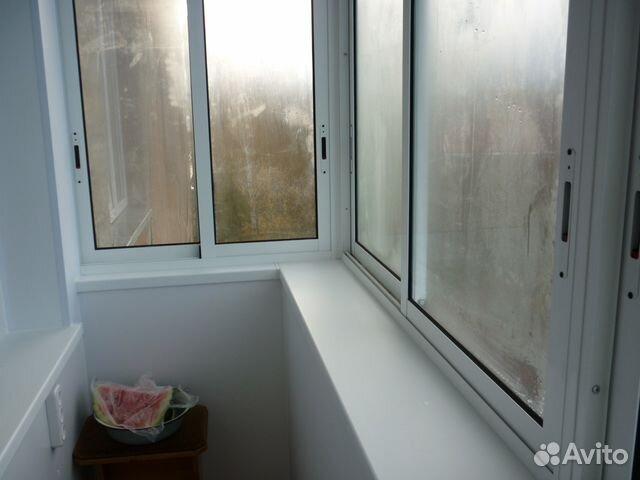 Окон. конструкция на балкон 3,31x1,5 арт.54 реутов купить в .