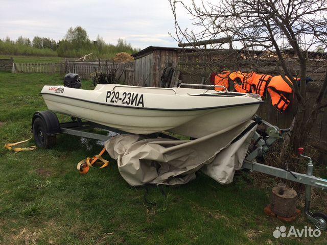 лодка laker 410 куплю на авито