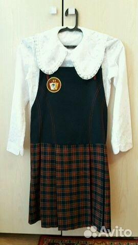 14e2c1a6fc7 Школьная форма для девочки купить в Свердловской области на Avito ...