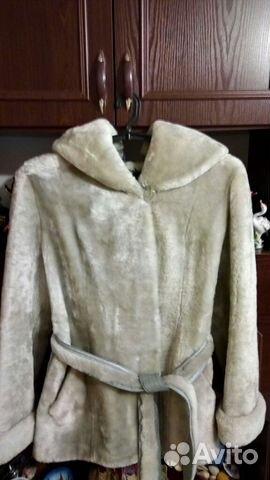 Fur coat Mouton