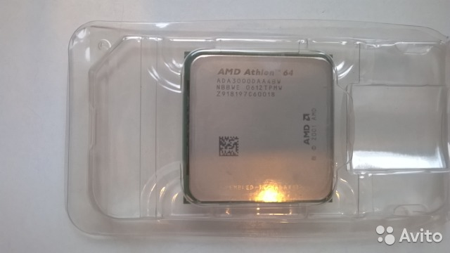 AMD Athlon 64 3000+ Socket 939— фотография №1