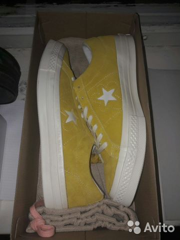 Converse x Golf Le Fleur Yellow купить