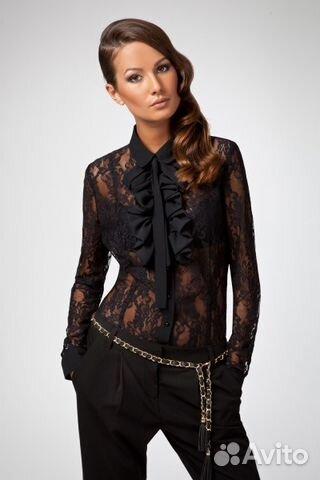 fceda114797 Вечерняя блузка из гипюра