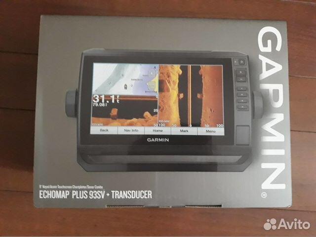 Эхолот-картплоттер Garmin Echomap Plus 93sv(CV/GT)