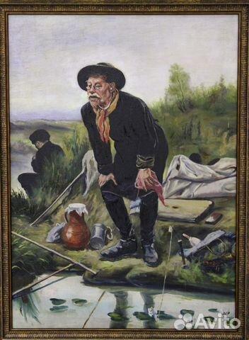 В г перов рыболов описание картины