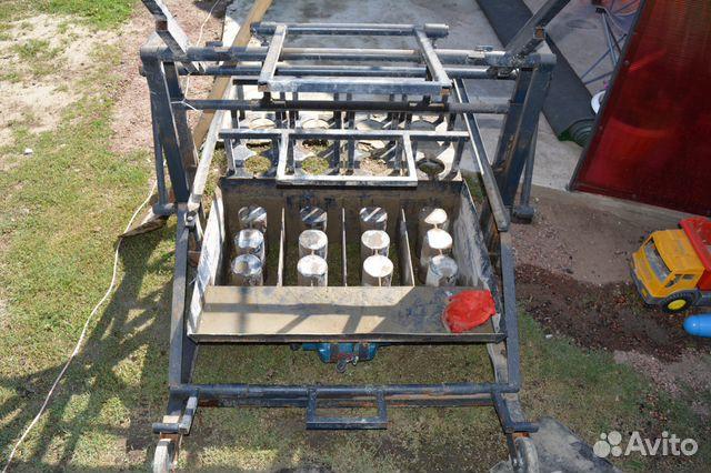 Maschine für die Herstellung von Blöcken