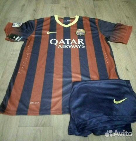 ae7e9692c6a1 Футбольная форма Барселоны 13-14 купить в Москве на Avito ...