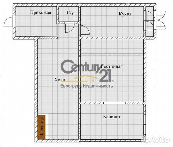 5-к квартира, 170.3 м², 5/6 эт.