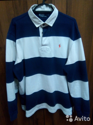 86387e1e177 Рубашка поло с длинным рукавом Polo Ralph Lauren