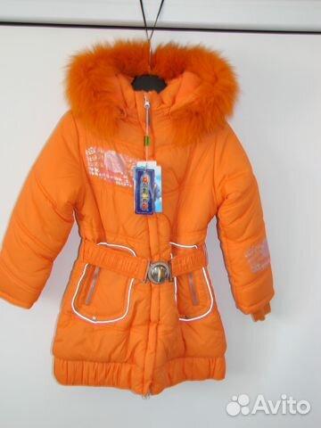 Пальто зимнее danilo для девочки (новое) 89043239180 купить 1