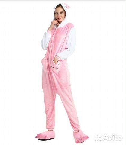 Пижама Кигуруми Hello Kitty купить в Москве на Avito — Объявления на ... fdf1e274dfbb3