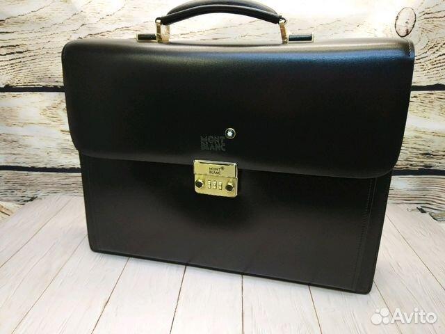 f4e2246b0317 Портфель мужской кожаный Монблан | Festima.Ru - Мониторинг объявлений