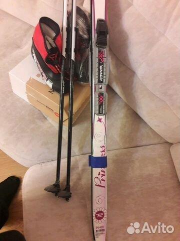 31743dff82f8 Комплект беговых лыж для девочки купить в Саратовской области на ...