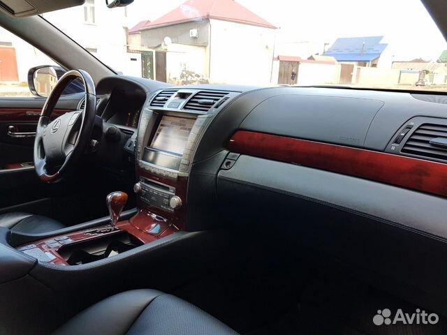 Lexus LS, 2010 89882203117 купить 6
