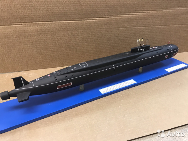 Модель подводной лодки проект 955 Борей купить в Архангельской ...
