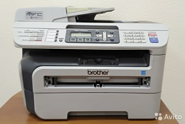 BROTHER MFC-7440NR DRIVER FOR WINDOWS 8