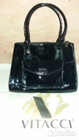 1a7fd91f06c4 Продам новую сумку женскую лакированная чёрная купить в Москве на ...